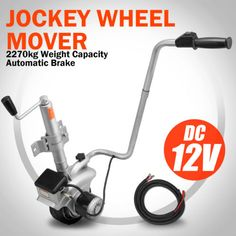 New-Motorised-Jockey-Wheel-12V-Electric-Caravan-Trailer-Boat-Power-Mini-Mover