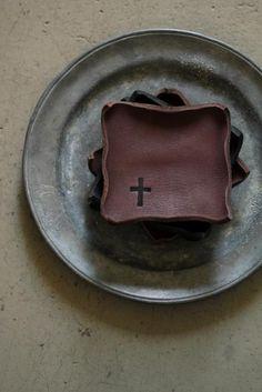 Leather Coaster - Square   IRRE