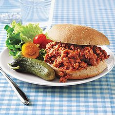 Turkey Sloppy Joes | I use ground beef instead--this is THE BEST sloppy joes recipe!