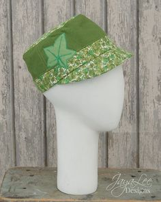 Green Ivy Cap by GreenTrunkDesigns on Etsy