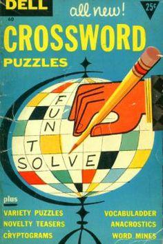 Crossword Puzzle Cover Art