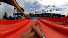 Bešeňová Red Water Slide (Multislide) 360° VR POV Onride Red Water, Water Slides, Vr, Youtube, Youtubers, Youtube Movies