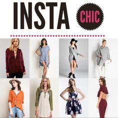 THEME: INSTACHIC! (With the INSTABEST) Cohosting with some of my favorite people on earth! Yay hooray! Please party with us on Jan 26, 2016!!! Will be choosing half of my party picks from the PARTY FEED so share blast your closet! Bare Anthology Tops
