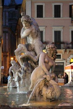 Piazza Navona, #Rome - ITALY  buon giorno - good morning - bonjour - Guten Morgen