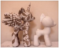 MLP - Pony Plushie Pattern Prototype by *mamaapple on deviantART
