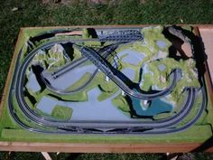 z scale layout in a suitcase - Google Search