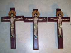 Beautiful crucifixes!