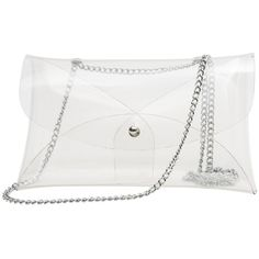 Zarapack Women's PVC Clear Bag Transparent Crossbody Shoulder Bag with... ($12) ❤ liked on Polyvore featuring bags, handbags, shoulder bags, handbags crossbody, purses crossbody, purse shoulder bag, white crossbody handbags and clear purse