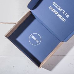 RompHim is using money-saving packaging strategies that look like a million. ⬅️ Swipe left to see how they're branding the outside of their #madewithlumi box with stickers and head to our STORIES to see them in the wild. #printedbox #branding #ecommerce #ecommercepackaging