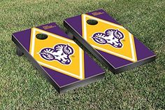 West Chester Golden Rams Cornhole Game Set Diamond Version -- To view further for this item, visit the image link.