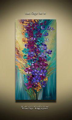 Together for Eternity Landscape Oil by CreativePaletteKnife