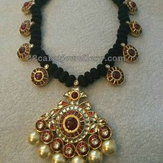 Different Style Black Dori Necklaces