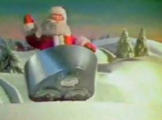 It wasn't officially Christmastime until the Norelco Santa commercial came on.