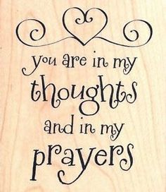 Image result for thinking of you with prayers