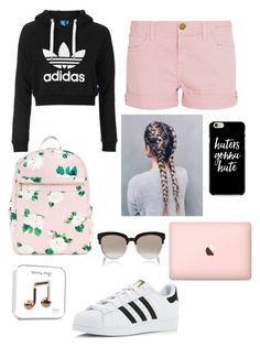 """""""Untitled #1"""" by manyakaur ❤ liked on Polyvore featuring adidas Originals, Current/Elliott, adidas, Christian Dior and Caso"""