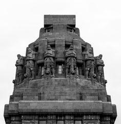 Völkerschlachtdenkmal, Leipzig, Saxony, Germany, built between 1898-1913. Architects: Bruno Schmitz and Clemens Thieme. Sculptor: Franz Metzner