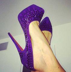 Purple Pumps!