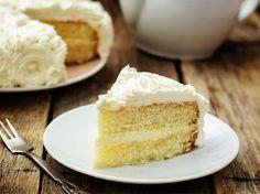 Vanille-Kuchen, ohne Milch und Ei