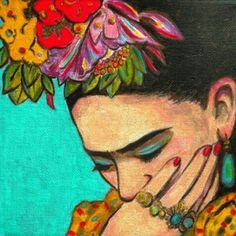 #fridakahlo  Las cosas no valen por el #tiempo que duran, sino por las #huellas que dejan. #Frida