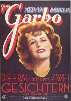 Greta Garbo Two Faced Woman German Poster