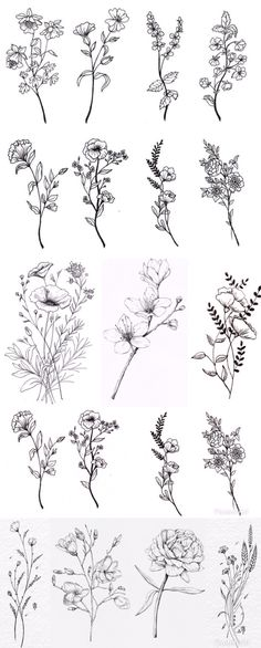Flower Tattoo On Ribs, Simple Flower Tattoo, Flower Tattoos, Pretty Tattoos, Cute Tattoos, Tatoos, Mini Tattoos, Small Tattoos, Floral Thigh Tattoos