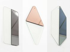 Obei Obei mirrors by Attico, from sightunseen.com
