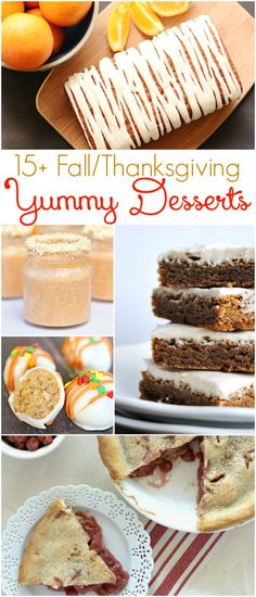 Need an easy fall dessert? Check out these yummy Thanksgiving recipes!