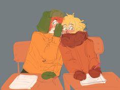 South Park Anime, South Park Fanart, Bane Of My Life, Kyle South Park, Goth Kids, Tweek And Craig, Eddsworld Memes, Funny Naruto Memes, South Padre Island