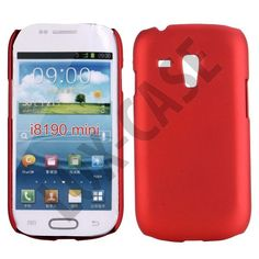 Hard Shell (Rød) Samsung Galaxy S3 Mini Deksel