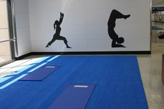 Dallas/Fort Worth International airport yoga space