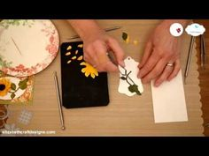 NEW Video Tutorial Garden Notes – Sunflower | Elizabeth Craft Designs
