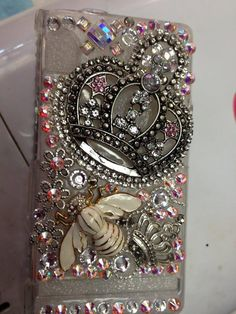 Blinged Cell Phone Case