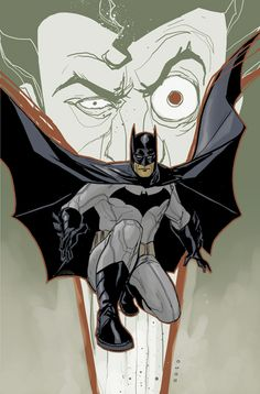 Batman - I was working on a very quick little Batman piece for something and it soon turned into this.