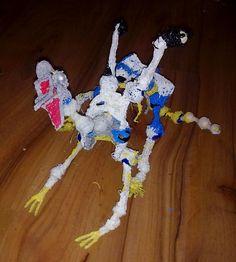 dragons skeleton before fleshing him out.