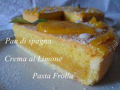 Lemon cake - Torta al Limone - Ricettedi.it Italian Desserts, Italian Recipes, Gateau Cake, Biscuits, Cake Recipes, Dessert Recipes, Savoury Baking, No Bake Pies, Plated Desserts