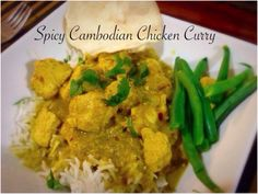Spicy Cambodian Chicken Curry Bellini Recipe, Chicken Curry, Spicy, Recipes, Fun, Thermomix, Ripped Recipes, Cooking Recipes