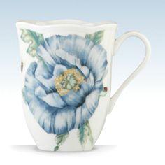 Butterfly Meadow® Blue Mug by Lenox