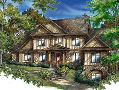 Craftsman Appeal - 26625GG | 1st Floor Master Suite, Bonus Room, CAD Available, Corner Lot, Craftsman, Den-Office-Library-Study, Mountain, Northwest, PDF, Sloping Lot | Architectural Designs