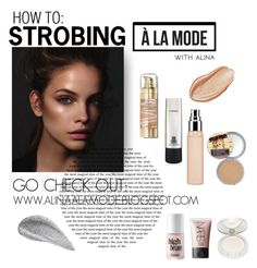 """""""HOW TO: STROBING"""" by alinaalamode ❤ liked on Polyvore"""