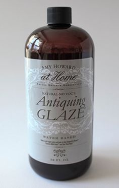 Use Amy Howard at Home Antiquing Glaze to distress and age your finish, especially finishes created using Amy Howard at Home Toscana Milk Paint. Paint Stain, Paint Finishes, Amy Howard Paint, Chalk Paint Projects, Paint Brands, Painted Furniture, Furniture Refinishing, Refurbished Furniture, Furniture Redo