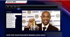 our Striker, ourCaptain, our Legend. Thierry Henry, Van Persie, Wayne Rooney, Steven Gerrard, Gareth Bale, Cristiano Ronaldo