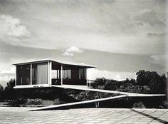 Artigas, Sales Pavilion, Gardens of El Pedregal, Mexico City, 1950