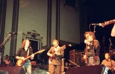 Rory Gallagher, John Martyn, Jack Bruce and Charlie Watts