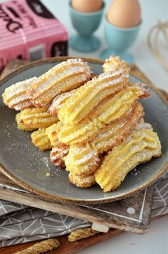 Biscuiti de casa spritati - Retete culinare by Teo's Kitchen Cake Recipes, Dessert Recipes, Biscotti Cookies, Romanian Food, Sweet Pastries, Moldova, Sweet Cakes, Churros, Food Presentation
