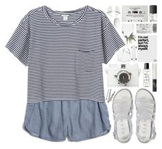 """""""my birthday set // my dream wardrobe pt.20"""" by undercover-martyn ❤ liked on Polyvore featuring Madewell, Monki, Aéropostale, NARS Cosmetics, Lomography, BOBBY, CASSETTE, CB2 and H&M"""