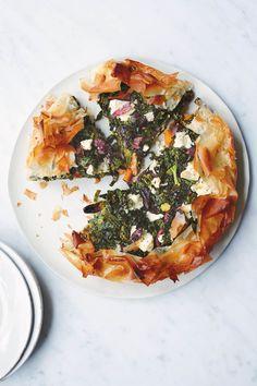 Frying Pan Squash And Cavolo Nero Pie - Anna Jones – Crane Cookware