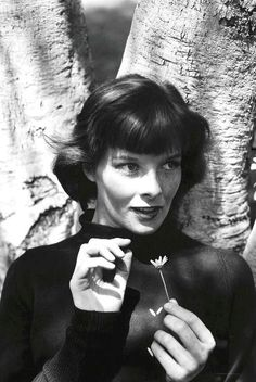 Katharine Hepburn was a devotee of the turtleneck