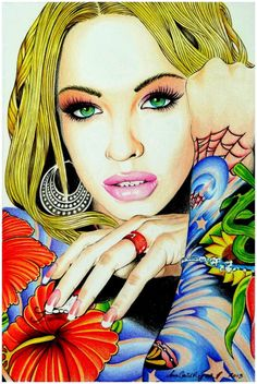 Megan Daniels / #Art #CelebrityArt First pinned to Celebrity Art Board here- http://pinterest.com/fairbanksgrafix/celebrity-art/