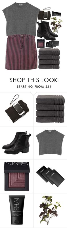 """""""Berry Flavour"""" by lsaroskyl ❤ liked on Polyvore featuring Rebecca Minkoff, Christy, Miu Miu, NARS Cosmetics, Assouline Publishing, OKA, women's clothing, women, female and woman"""