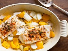 One-dish dinner: Phase 2 Lemon-Pepper Cod from our blog takes just 10 minutes of prep and tastes delicious.